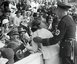 A Kiss For Adolf Hitler