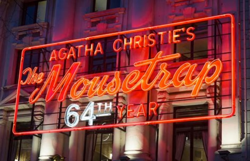 64 years and still going strong – The Mousetrap at St Martin's Theatre in London's West End