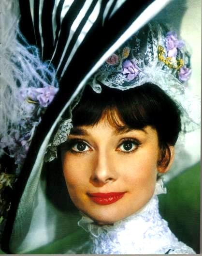 Audrey Hepburn transformed from from flower girl to My Fair Lady