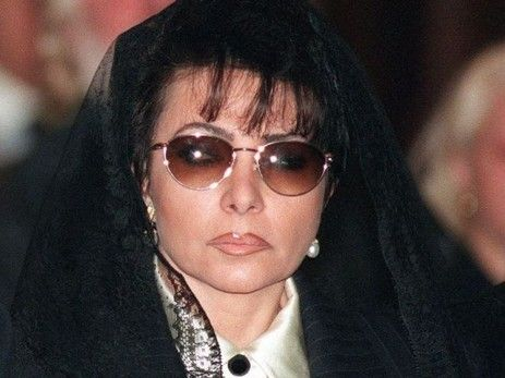 "The ""Black Widow"": Patrizia at the funeral of Maurizio Gucci"