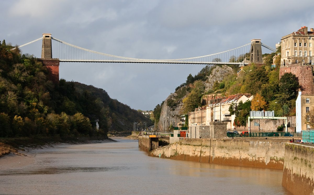 Clifton Suspension Bridge – a well-known suicide venue