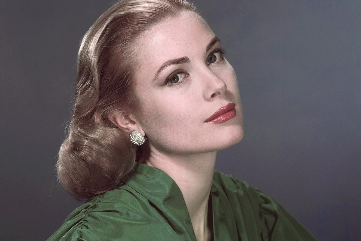 Grace Kelly pictured at the height of her fame in Hollywood
