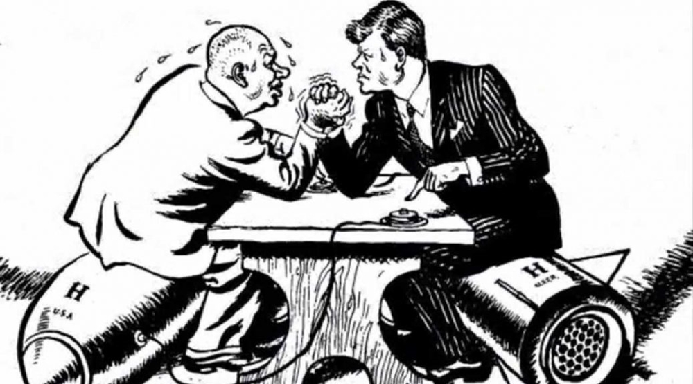Trial of strength: How a cartoonist saw the confrontation between Kruschev and Kennedy