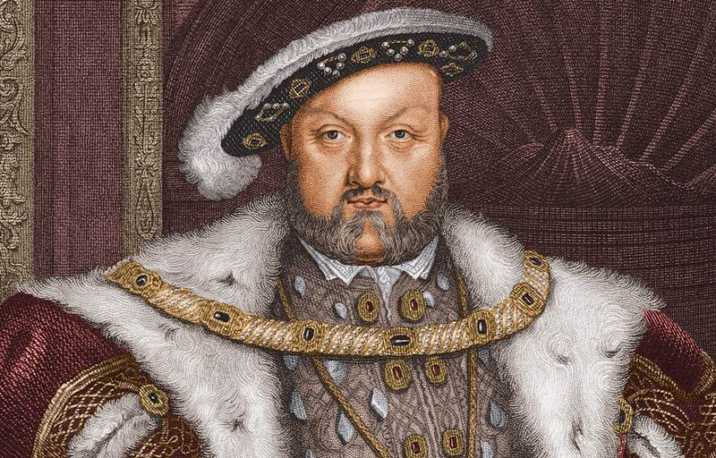 King Henry VIII at the height of his reign