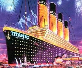 Step Aboard the Titanic – Las Vegas Style