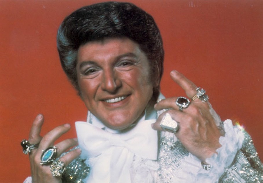 Liberace in the 1950s at the peak of his highly successful career