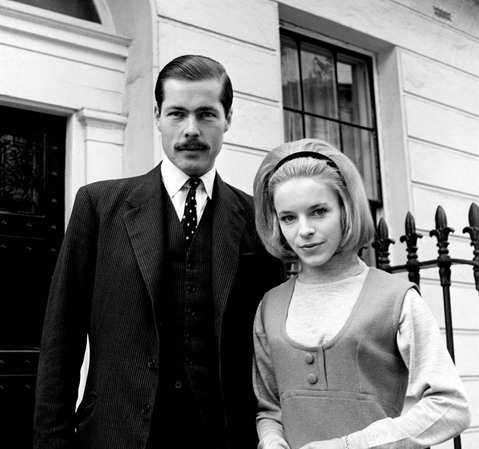 Lord and Lady Lucan outside their home where she was later attacked