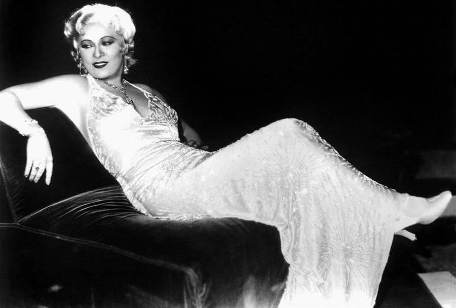 Mae West at the height of her career