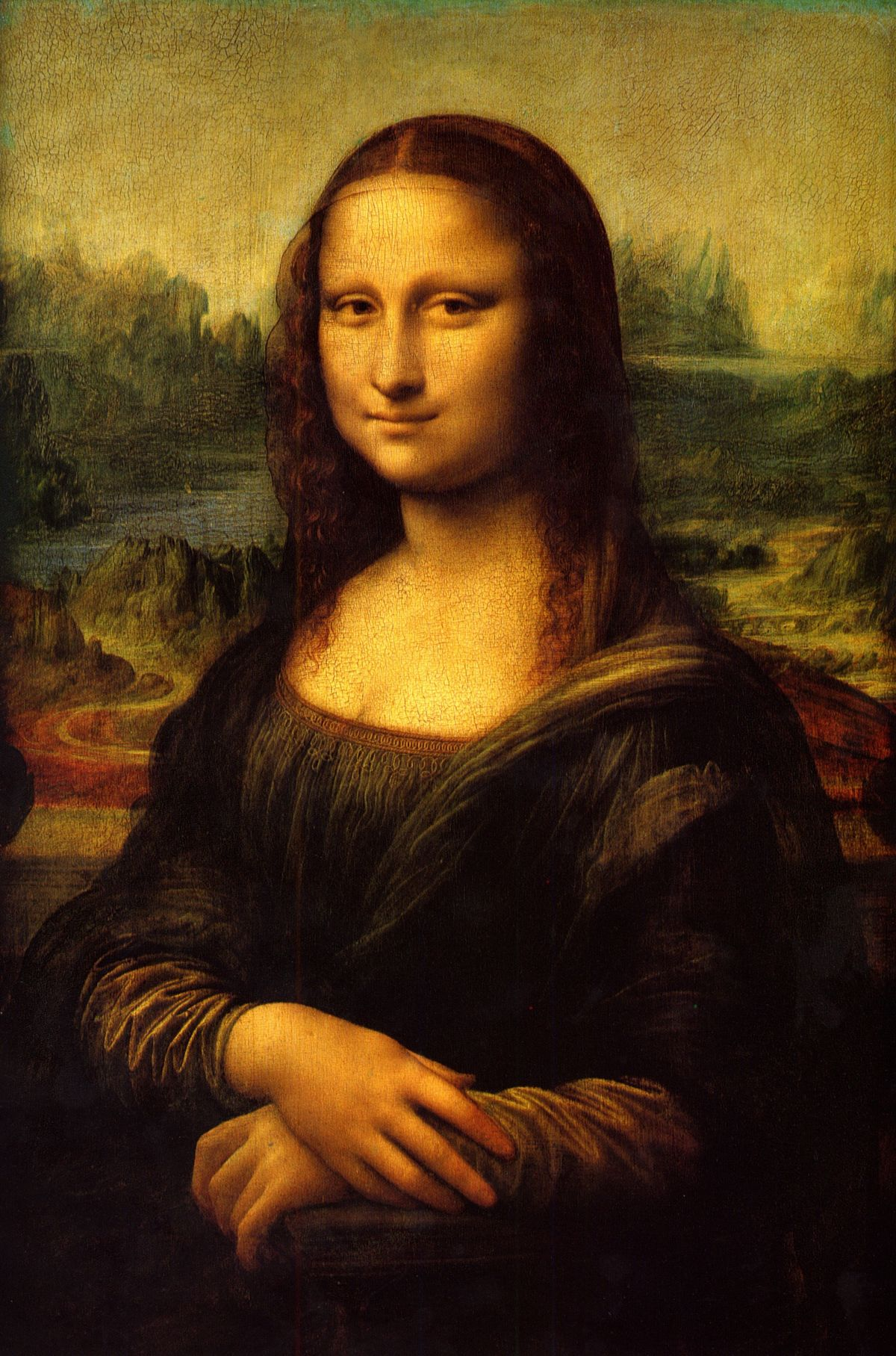 The Mona Lisa. ©RMN-Grand Palais (Musée du Louvre)/Michel Urlado