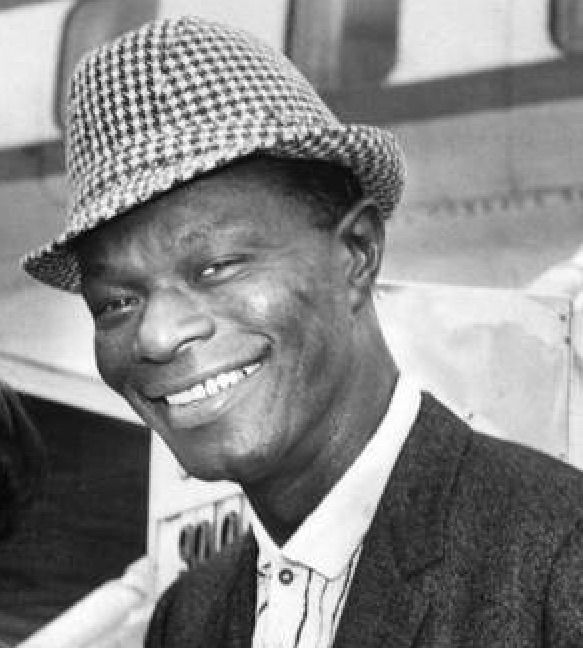 'Smile though your heart is breaking. . .' Nat King Cole in 1959