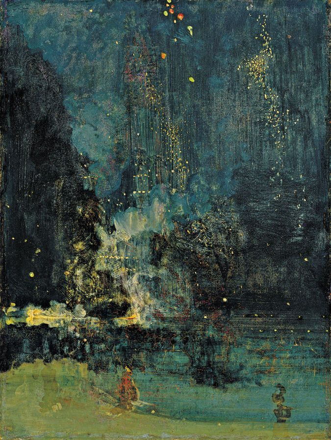Nocturne in Black and Gold: The Falling Rocket now on display in the USA
