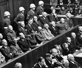 Nuremberg War Trials Bring Nazis to Justice