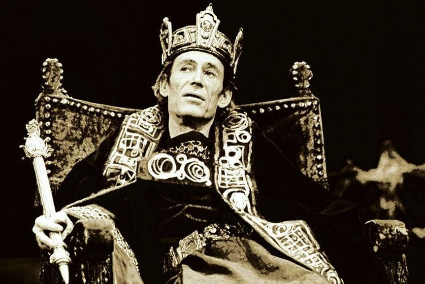 Hail Macbeth! Peter O'Toole as the King of Scotland