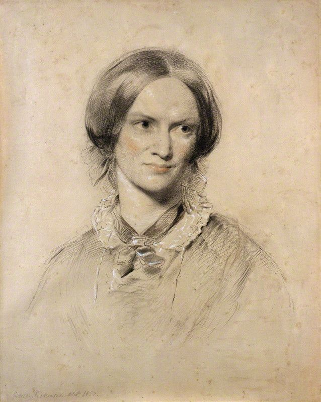Charlotte Brontë by George Richmond. Photo: National Portrait Gallery, London