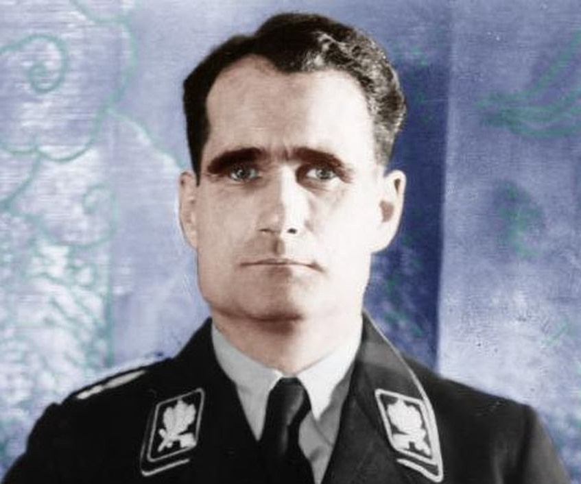 Image result for rudolf hess parachuted into scotland