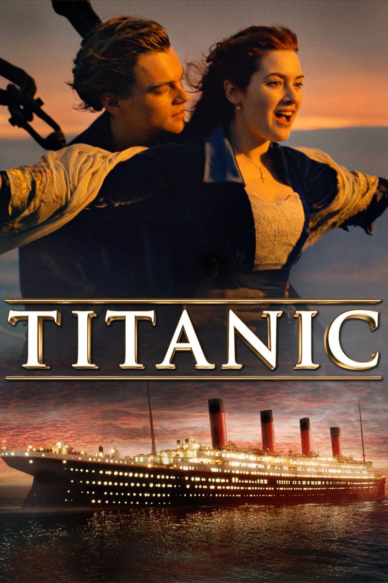 Leonardo DiCaprio and Kate Winslet enjoy an exhilarating experience aboard the Titanic