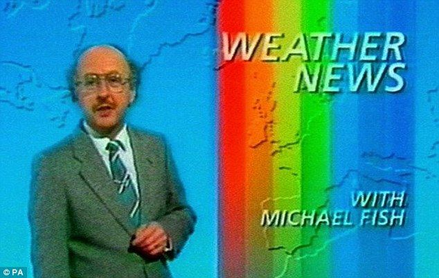 Michael Fish offers an assurance about an impending storm