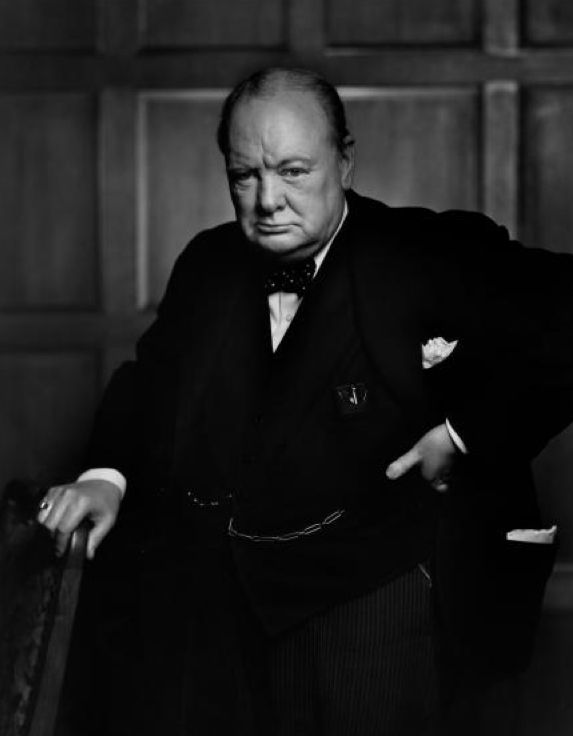 The Roaring Lion, Winston Churchill
