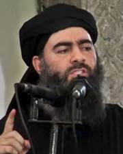 Leader of Islamic State Abu Bakr al-Baghdadi