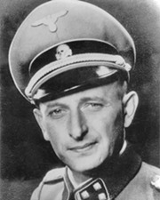 Nazi SS Officer and War Criminal Adolf Eichmann