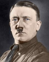 Dictator of Nazi Germany Adolf Hitler