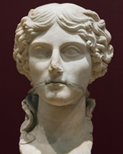 Prominent Roman Woman of the First Century Agrippina the Elder