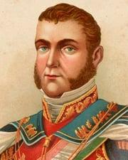 1st Emperor of Mexico Agustín de Iturbide