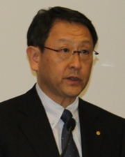 President of Toyota Motor Corporation Akio Toyoda