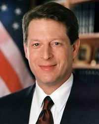 45th Vice President of the United States Al Gore