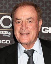 American Television Sportscaster Al Michaels
