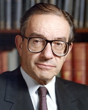 Economist and Chairman of the Federal Reserve Alan Greenspan
