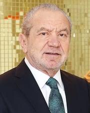 Computer Entrepreneur Alan Sugar