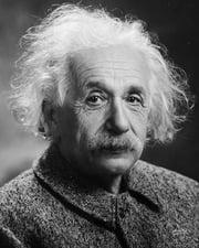 Theoretical Physicist Albert Einstein