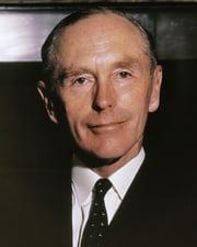 British Prime Minister Alec Douglas-Home