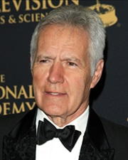 Host of Jeopardy! Alex Trebek