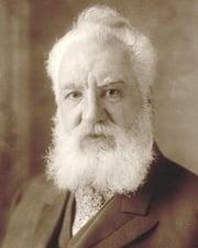 Inventor Alexander Graham Bell