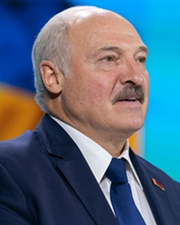 Dictator and 1st President of Belarus Alexander Lukashenko