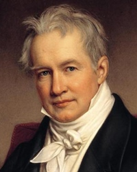 Naturalist and Explorer Alexander von Humboldt