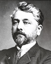 Engineer and Achitect Gustave Eiffel
