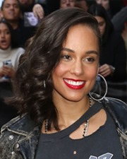 Singer-Songwriter Alicia Keys