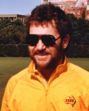 Cricketer Allan Border