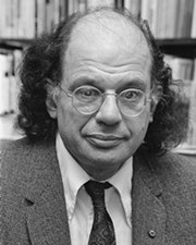 Beat Poet Allen Ginsberg