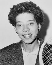 Tennis Player Althea Gibson