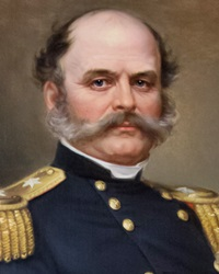 Union General, Politician and Industrialist Ambrose Burnside