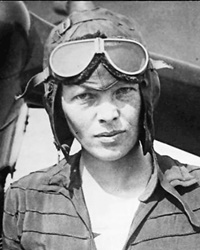 Aviation Pioneer Amelia Earhart