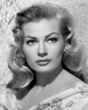 Actress Anita Ekberg