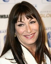 Actress Anjelica Huston