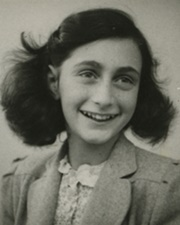 Jewish Victim & Diarist of the Holocaust Anne Frank