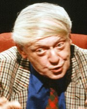 Novelist Anthony Burgess