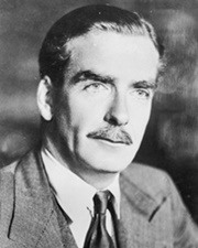 British Prime Minister Anthony Eden
